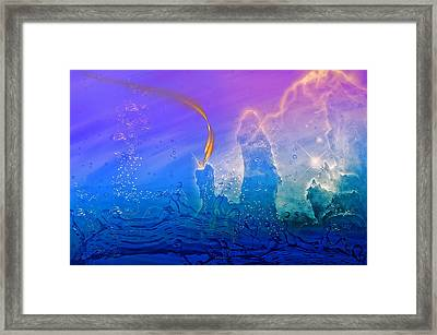 Attack Framed Print by Camille Lopez