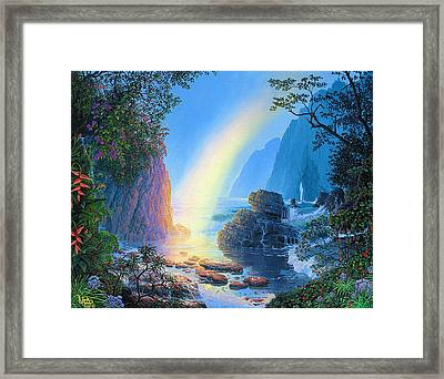Attainment Framed Print by Loren Adams