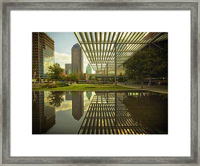 Attractive Entrance Of The Winspear Opera House Framed Print by Mountain Dreams