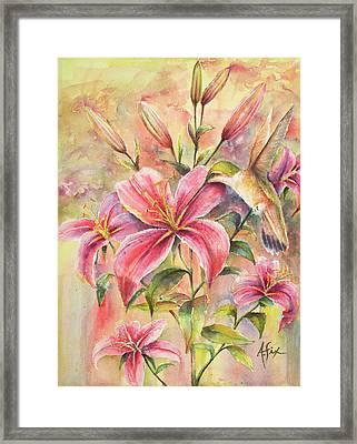 Attractive Fragrance Framed Print by Arthur Fix