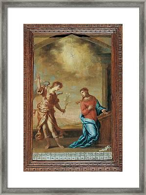 Attributed Guardi Francesco, Trinity Framed Print by Everett