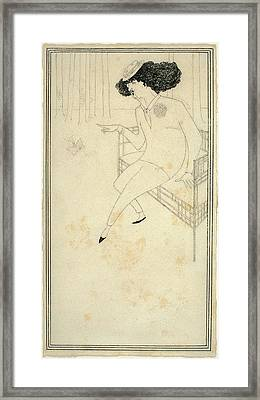 Aubrey Beardsley British, 1872 - 1898 Framed Print by Quint Lox