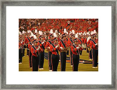 Auburn University Marching Band Framed Print by Mountain Dreams
