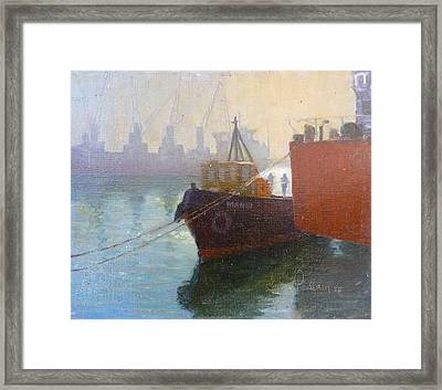 Auckland Morning Framed Print by Terry Perham