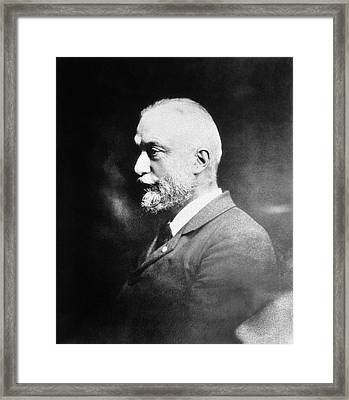 August Forel Framed Print by National Library Of Medicine