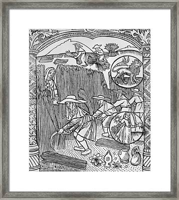 August  Leo Framed Print by Pierre Le Rouge
