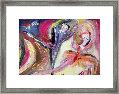 August Romance Framed Print by Judith Desrosiers