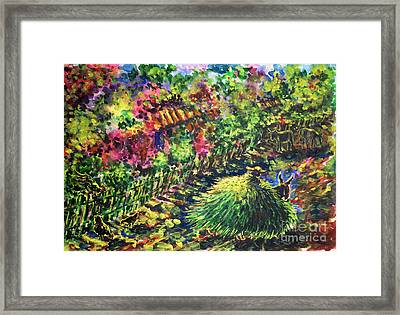 August Framed Print by Zaira Dzhaubaeva