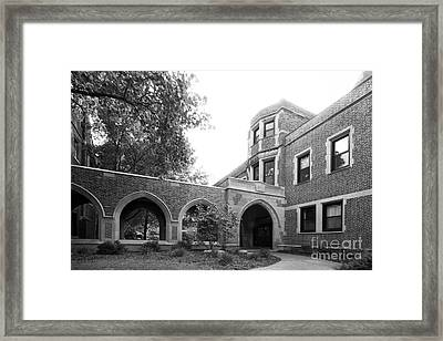 Augustana College Ascension Chapel Framed Print by University Icons