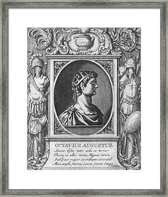 Augustus, Roman Emperor Framed Print by Science Photo Library