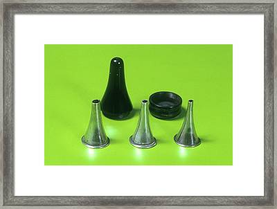 Aural Speculae Framed Print by Science Photo Library
