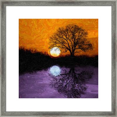 Aurora Goddess Of The Dawn Framed Print by Tom Mc Nemar