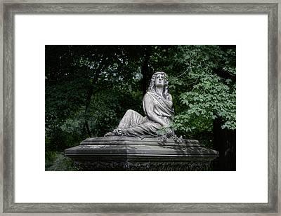 Aurther Haserot Monument Framed Print by Tom Mc Nemar