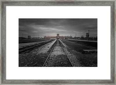 Auschwitz-birkenau Framed Print by Chris Fletcher