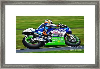Aussie Moto Grand Prix Framed Print by Blair Stuart