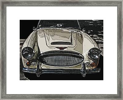 Austin Healey 3000 Mk Ill Framed Print by Samuel Sheats