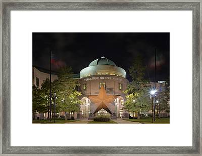Austin Images - The Texas State History Museum Framed Print by Rob Greebon