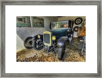 Austin Seven Framed Print by Ian Mitchell