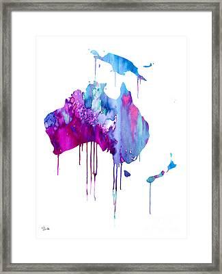 Australia 2 Framed Print by Luke and Slavi