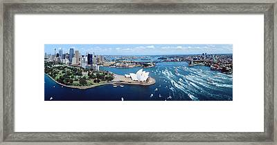 Australia, Sydney, Aerial Framed Print by Panoramic Images