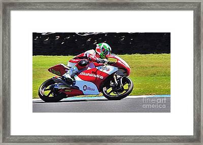 Australian 2013 Motor Grand Prix 3 Framed Print by Blair Stuart