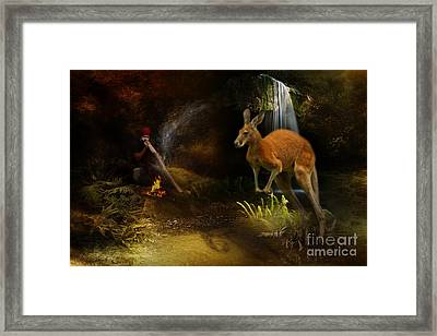 Australian Dreaming Framed Print by Trudi Simmonds