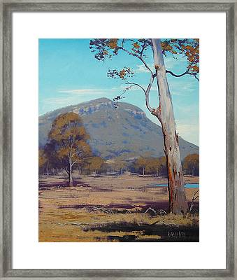 Australian Summer Landscape Framed Print by Graham Gercken