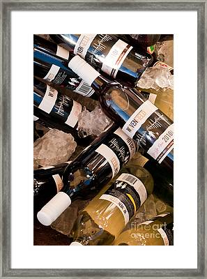 Australian Wine Framed Print by Rick Piper Photography