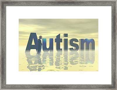 Autism Framed Print by Carol & Mike Werner