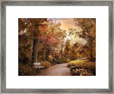 Autumn Aesthetic Framed Print by Jessica Jenney