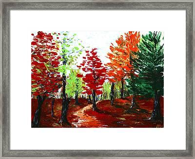 Autumn Framed Print by Anastasiya Malakhova
