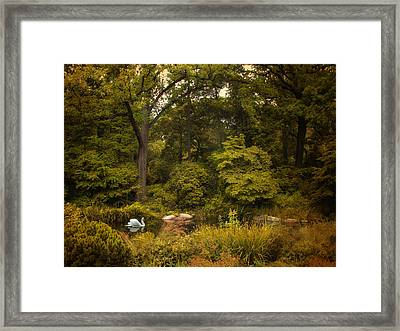 Autumn Arrives Framed Print by Jessica Jenney