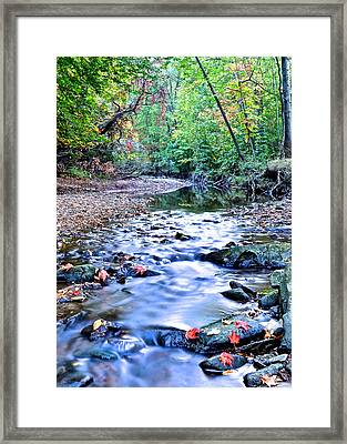 Autumn Arrives Framed Print by Frozen in Time Fine Art Photography