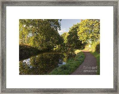 Autumn At Manley  Framed Print by Rob Hawkins