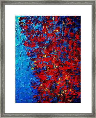 Autumn At Night Framed Print by Holly Anderson