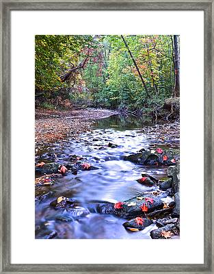 Autumn Begins Framed Print by Frozen in Time Fine Art Photography