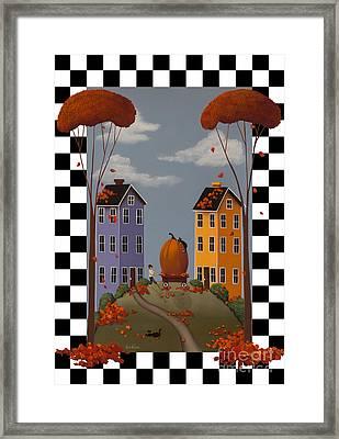 Autumn Blaze Framed Print by Catherine Holman