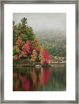 Autumn Breath Framed Print by Evelina Kremsdorf