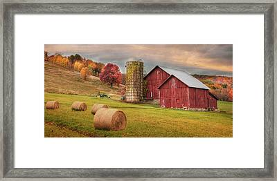 Autumn Breeze Framed Print by Lori Deiter