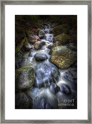Autumn Brook Framed Print by Veikko Suikkanen