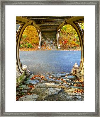 Autumn Crunch  Framed Print by Charlie Cliques
