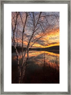 Autumn Dawn Framed Print by Bill Wakeley