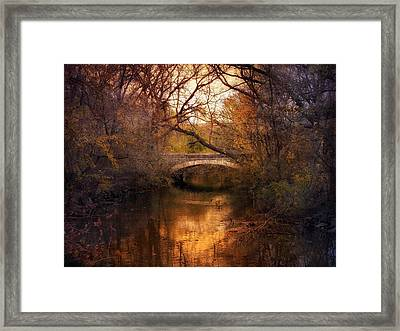 Autumn Finale Framed Print by Jessica Jenney