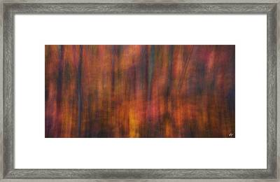 Autumn Fire Framed Print by Peter Coskun