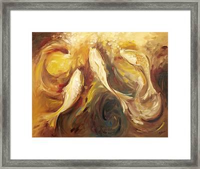 Autumn Fish Framed Print by John and Lisa Strazza