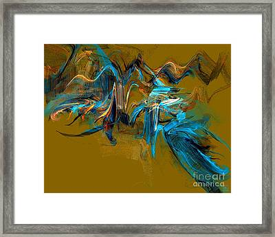 Autumn Glow Framed Print by Jeanne Liander