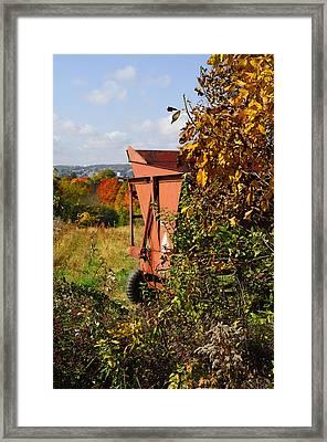 Autumn Harvest Framed Print by Luke Moore