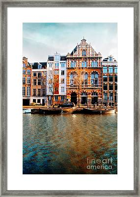 Autumn In Amsterdam  Framed Print by Jacky Gerritsen