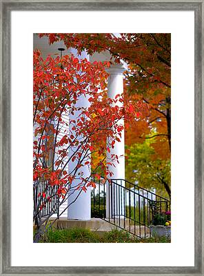 Autumn In Long Grove 2 Framed Print by Julie Palencia