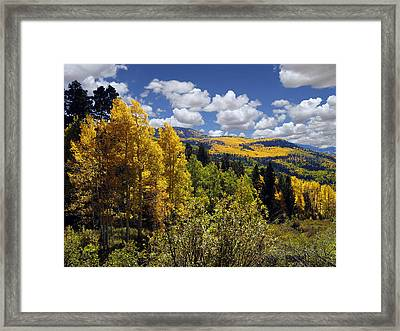 Autumn In New Mexico Framed Print by Kurt Van Wagner